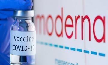 Ο ΕΜΑ ενέκρινε τη χορήγηση αναμνηστικών δόσεων με το εμβόλιο της Moderna